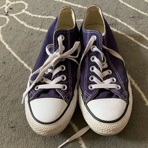 Dark Purple Converse